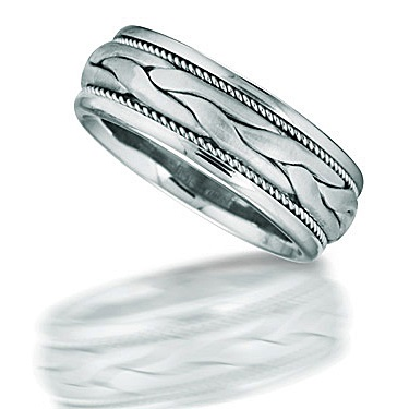 palladium engagement band